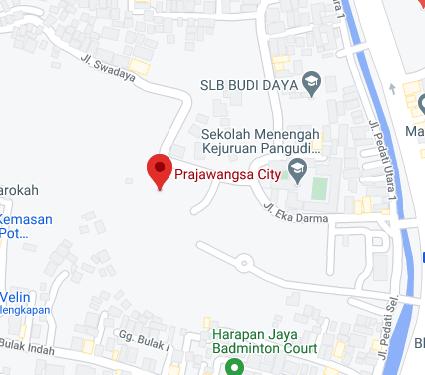 Prajawangsa City Maps